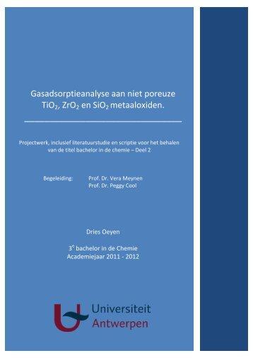 OeyenDries_Gasadsorp.. - UA Departement Chemie - Universiteit ...