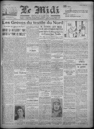 le midi socialiste - Histoire du quartier du Virolois de 1850 à