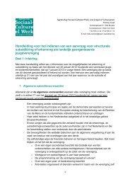 Handleiding voor het indienen van een aanvraag voor structurele ...