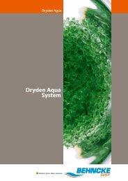 BEHNCKE Dryden Aqua System Broschuere - Behncke Gmbh