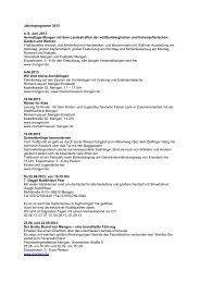 Jahresprogramm 2013 4.-8. Juni 2013 Heimattage Mengen mit dem ...