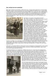 Een verhaal van een weeskind - Mijn Gelderland
