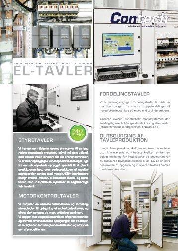 EL-TAVLER - Contech Automatic ApS