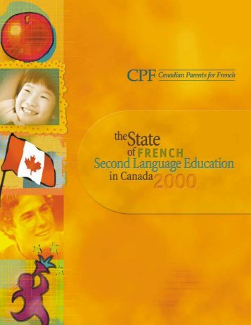 2000 Report - Canadian Parents for French