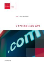 E-Invoicing-Studie 2009 - BearingPoint