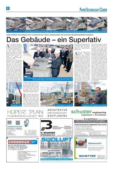 Voith Paper Technology Center - Schwäbische Post