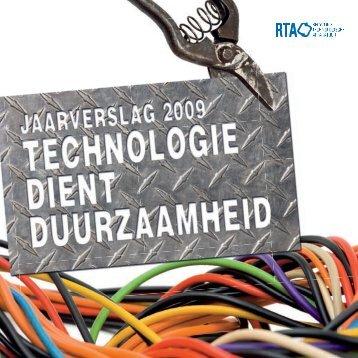 2009: Technologie dient duurzaamheid (PDF ... - Stichting RTA