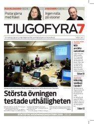 Tjugofyra7 Nr 09 2011