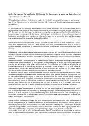 Fælles høringssvar fra det lokale MED-udvalg for ... - Nymarksskolen