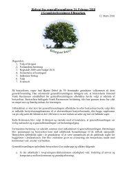 Referat fra generalforsamlingen 24. Februar 2010 i ...