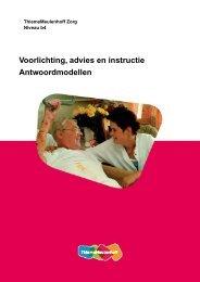 Voorlichting, advies en instructie ... - Zorg Basisboeken