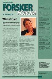 Weiss truer - FORSKERforum