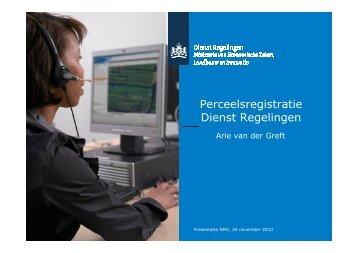 Informatie Dienst Regelingen - NMV