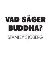 Vad säger Buddha? - Webbkyrkan