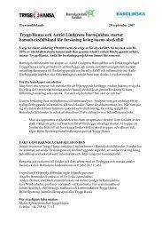 Olyckor utgör främsta hälsorisken för barn - Mynewsdesk