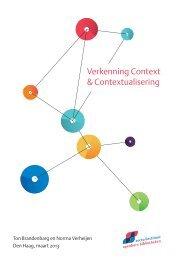 Verkenning Context & Contextualisering - SIOB