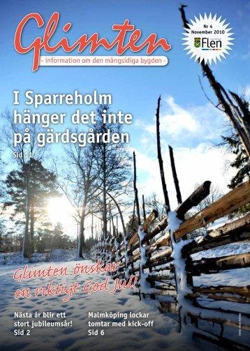 Glimten nr 4 2010.pdf - Flens kommun