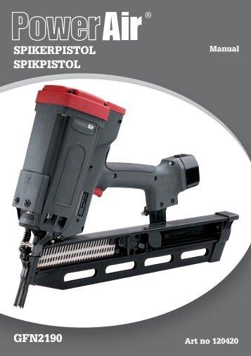 SPIKERPISTOL SPIKPISTOL GFN2190