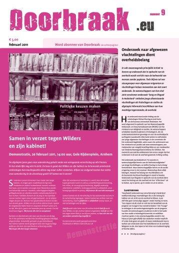De integrale krant als pdf - Doorbraak