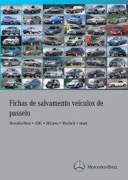 Fichas de salvamento veículos de passeio - Mercedes-Benz ...