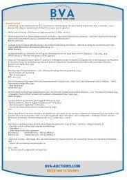 Boekenlijst (PDF) - BVA Auctions