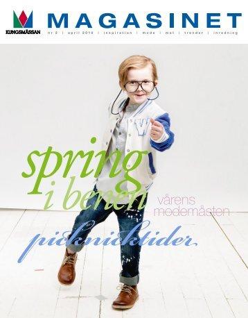 vårens modemåsten - Kungsmässan
