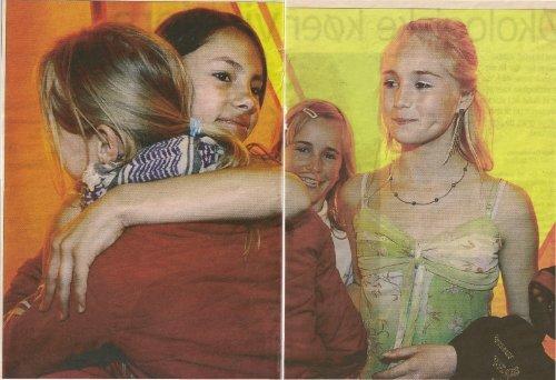"""2005 - Line og Anne-Sofie vinder """"Stjerne for en ... - nb-arkivportal"""