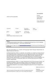 Zwolle Kampen Netwerkstadvisie 2030. - Provincie Overijssel