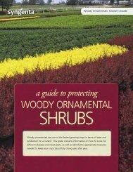 WOODY ORNAMENTAL - Nursery Crop Science