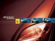 Ladda ner instruktionsbok för Scenic I - Renault