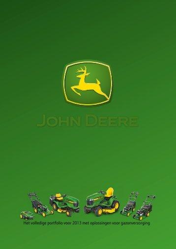 JohnDeere catalogus 2013.pdf - Kees van der Spek Tuinmachines