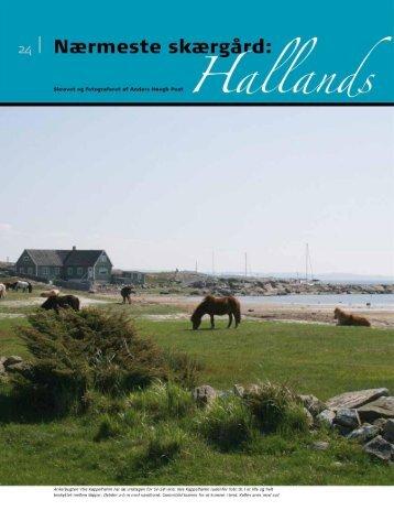 Download artiklen om Hallands Väderö fra SEJLER 04/2009 her...