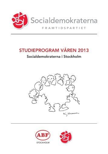 Ladda ner studieprogrammet här (PDF) - Socialdemokraterna