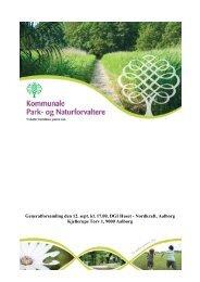 Læs beretninger, regnskab og budgetforslag - Kommunale Park