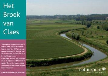 Ernest Claesroute (groene wandeling Demerbroeken) - Natuurpunt