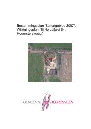 Vastgesteld wijzigingsplan - Gemeente Heerenveen