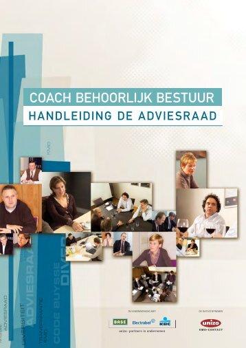UNIZO Coach behoorlijk bestuur - Handleiding de Adviesraad.pdf