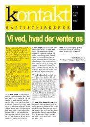 Nr. 3/2012 - Baptistkirken i Danmark