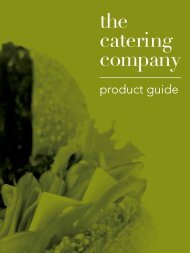 to Download Our Brochure. - The Catering Company