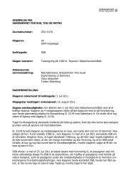 Afgørelse 2011-0170, 5. december 2011 - Ankenævnet for Bus, Tog ...