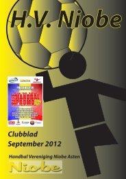 September 2012 Clubblad - Niobe