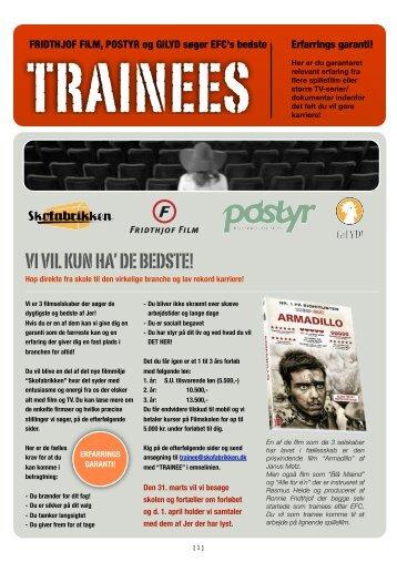 Postyrs Trainee Ordning