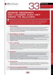Goede redenen om langer aan het werk te blijven (PDF)