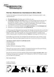 Anmälan/uppdatering till Nordanstigs kommunbroschyr - 2011/2012