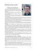 Nr 1, 2005 - Svenska Jerusalemsföreningen - Page 3