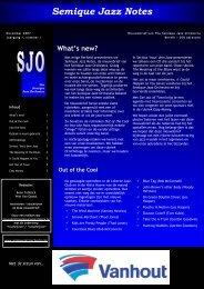 Semique Jazz Notes - Semique Jazz Orchestra
