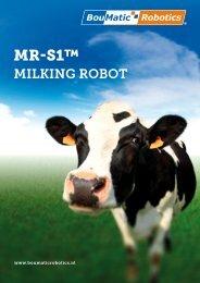 MR-S1™ - Blaauw Melk- en Staltechniek