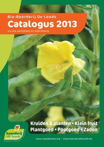 catalogus 2013 .pdf - De Loods