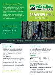 SPARROW HILL - Ride Canberra