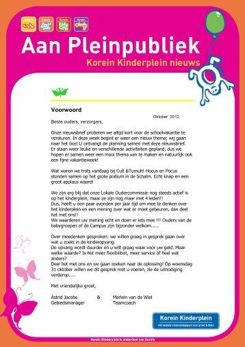 Nieuwsbrief DO oktober 2012.pdf - Korein Kinderplein